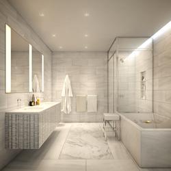 tribeca condos - master bathroom 2