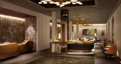 james hotel - lobby entry