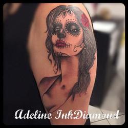 inkdiamond santa muerte