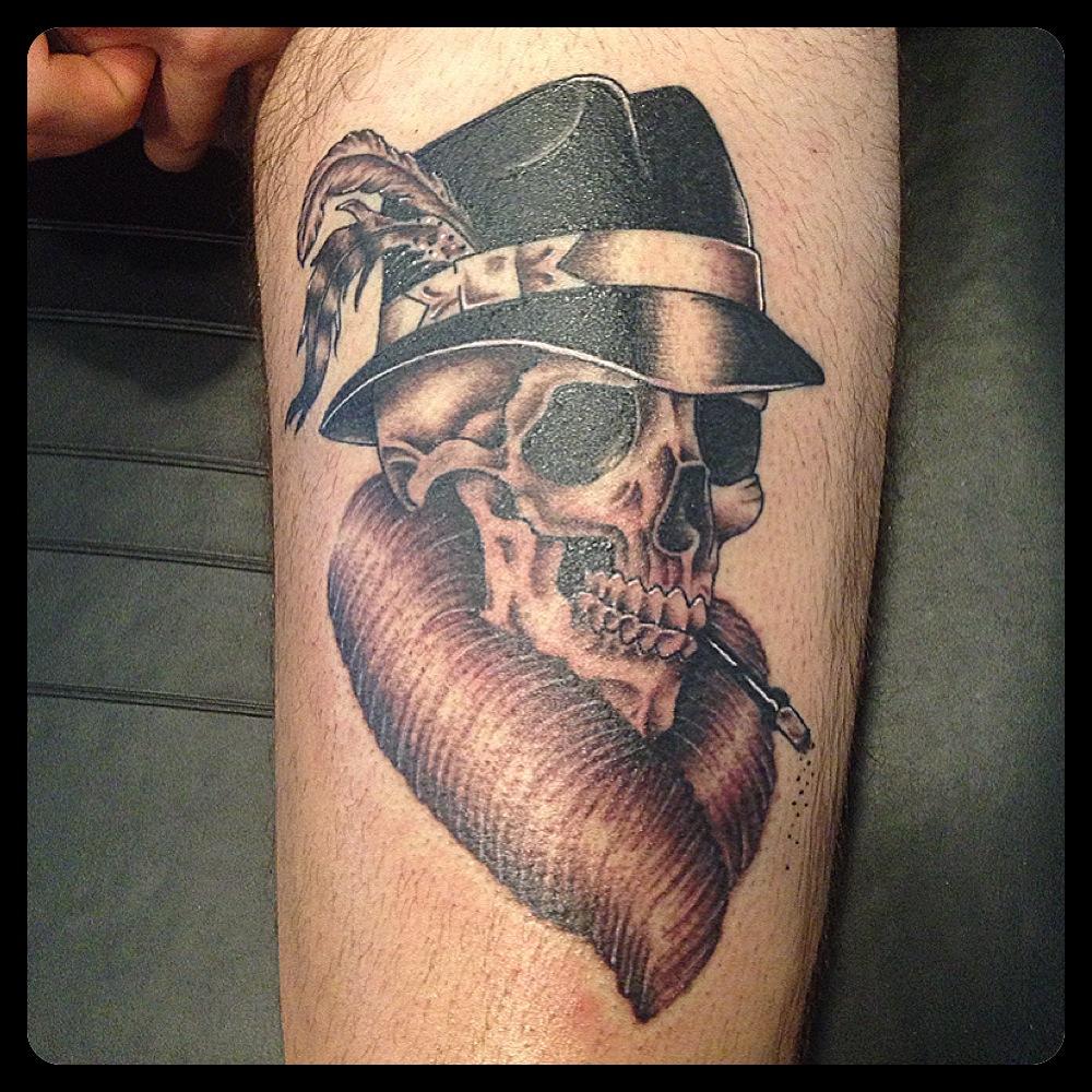 InkDiamond skull tattoo
