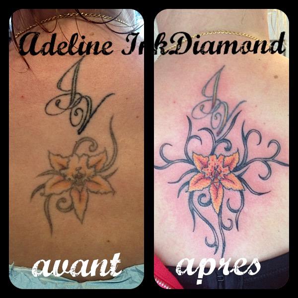 inkdiamond tattoo cover