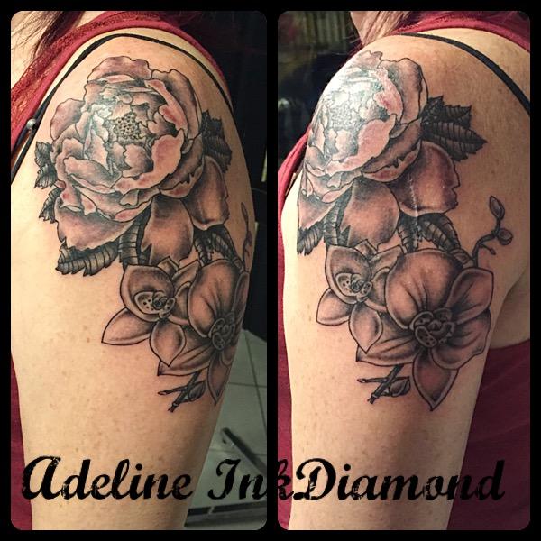 inkdiamond fleurs