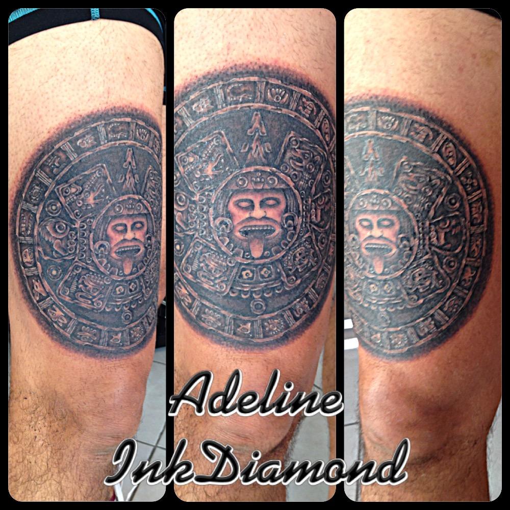 InkDiamond calendrier maya tattoo