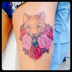 InkDiamond rose renard tattoo