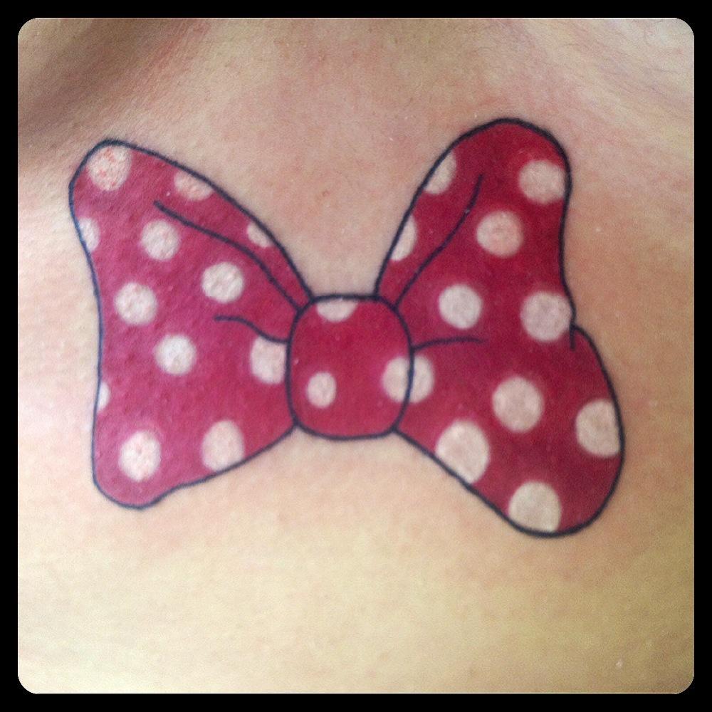 InkDiamond noeur minnie tattoo