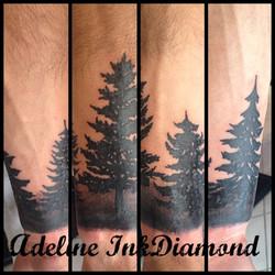 InkDiamond sapin tattoo