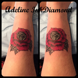 inkdiamond roses diamant