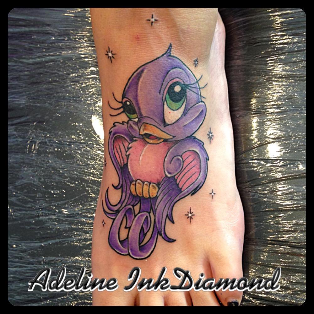 InkDiamond new school tattoo