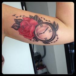 InkDiamond rose montre
