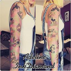 InkDiamond disney tattoo