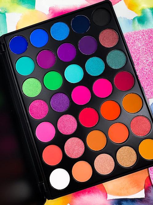 Rainbow High Pigment Eyeshadow Palette