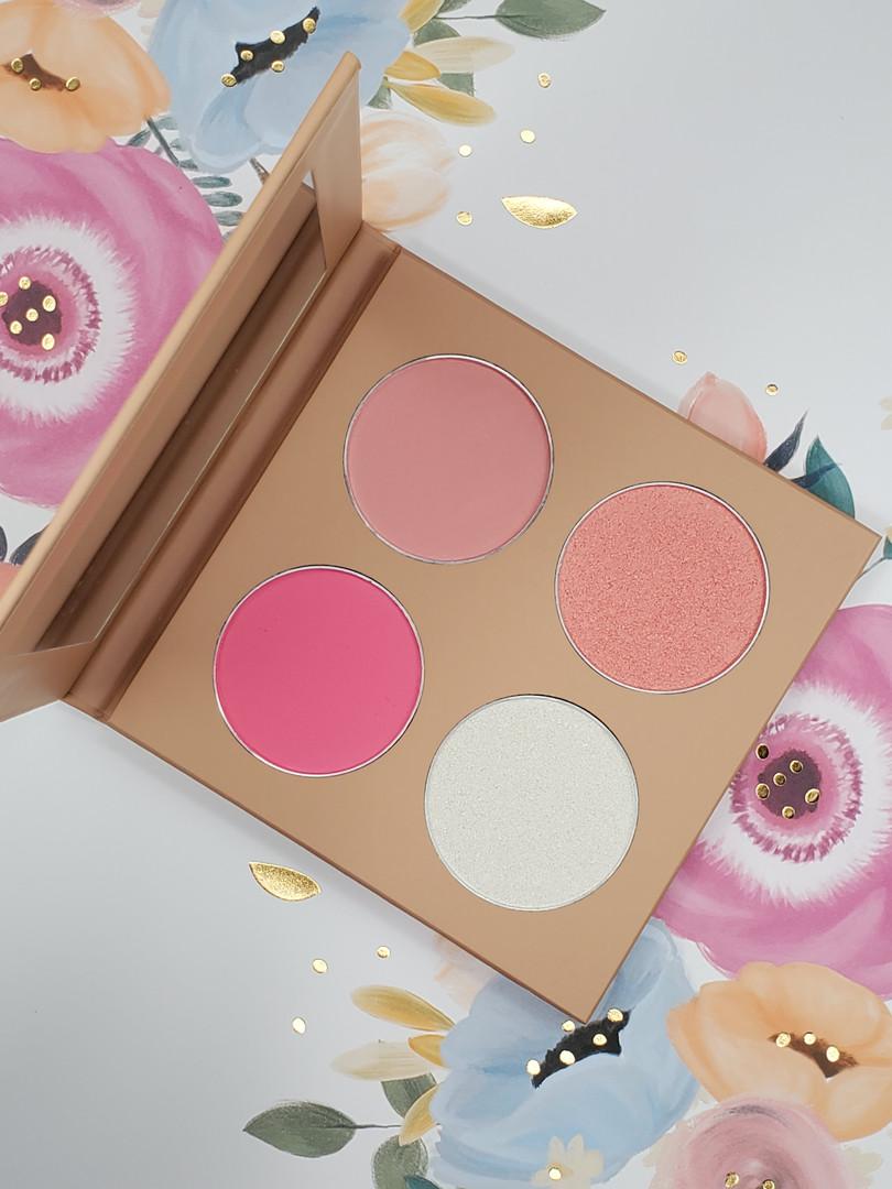 SG four color blush palette
