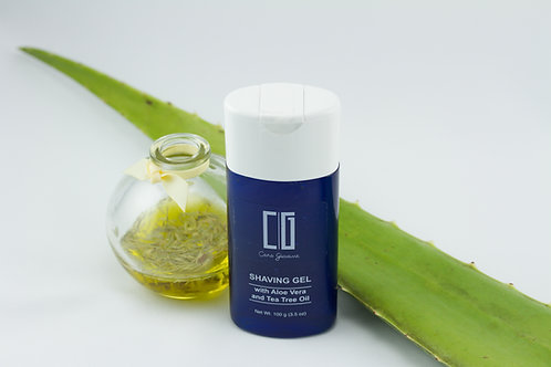 Aloe Vera and Tea Tree Oil Shaving Gel