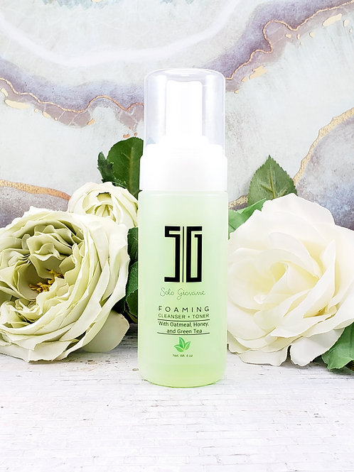 Foaming Cleanser and Toner