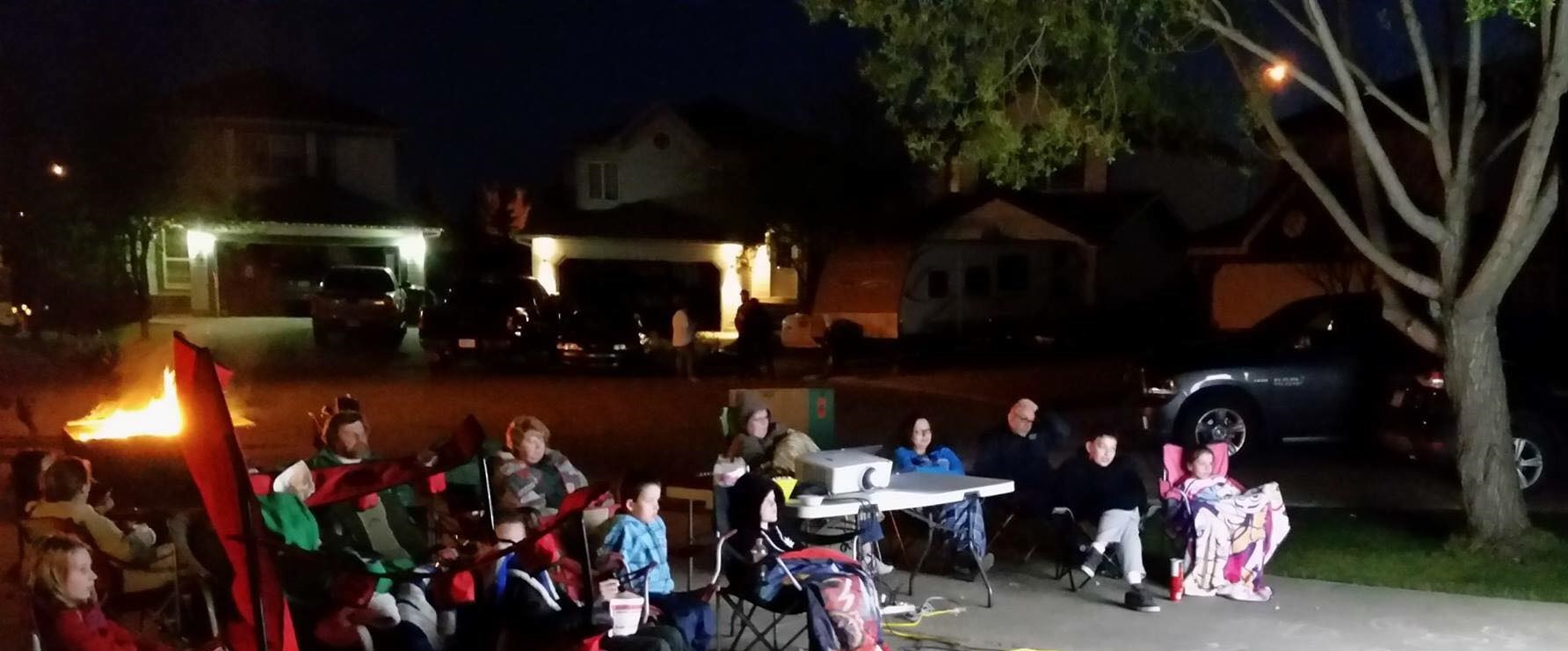 Doucette Place Movie Night 2 - May 2016