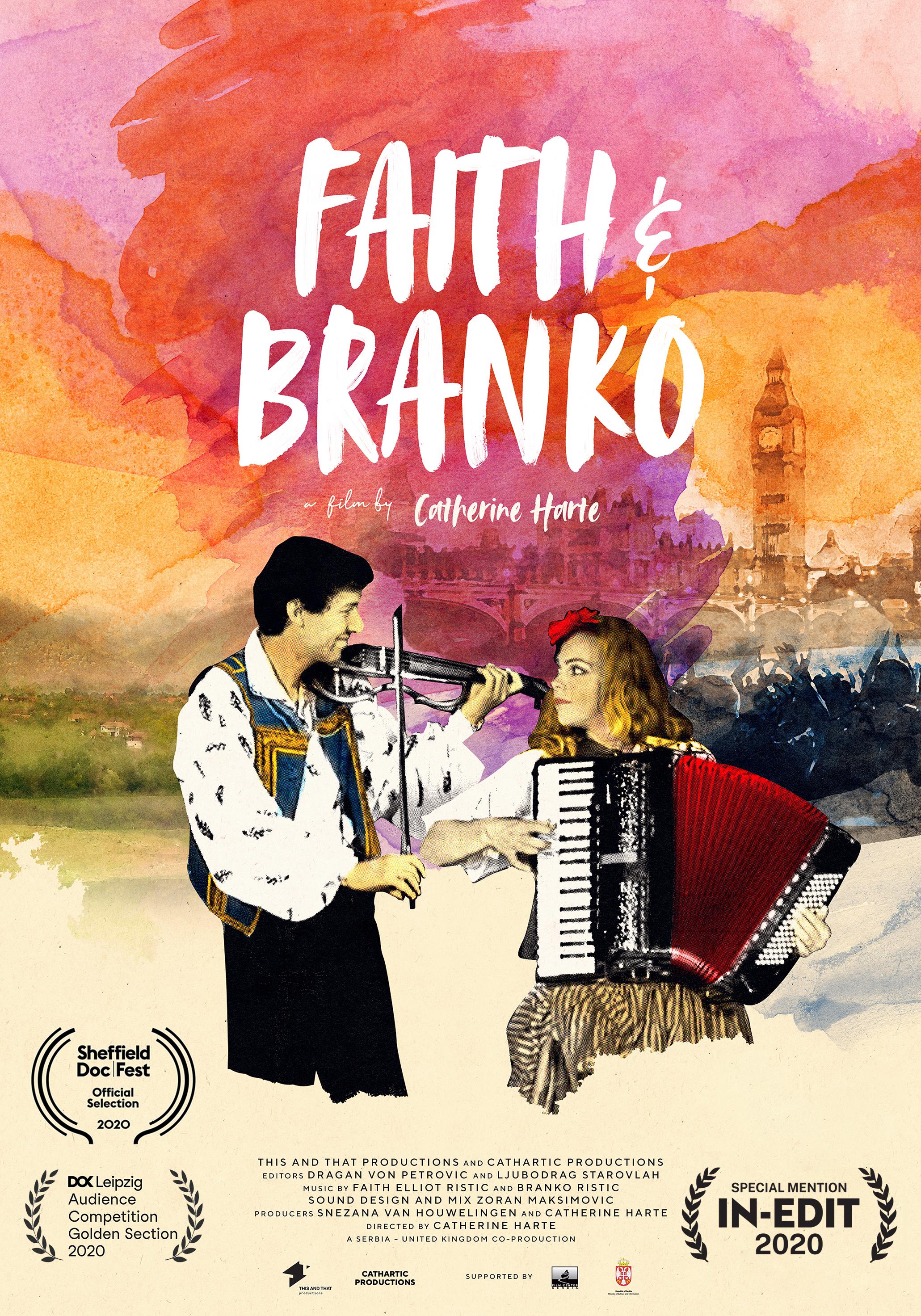 Faith and Branko poster 2021