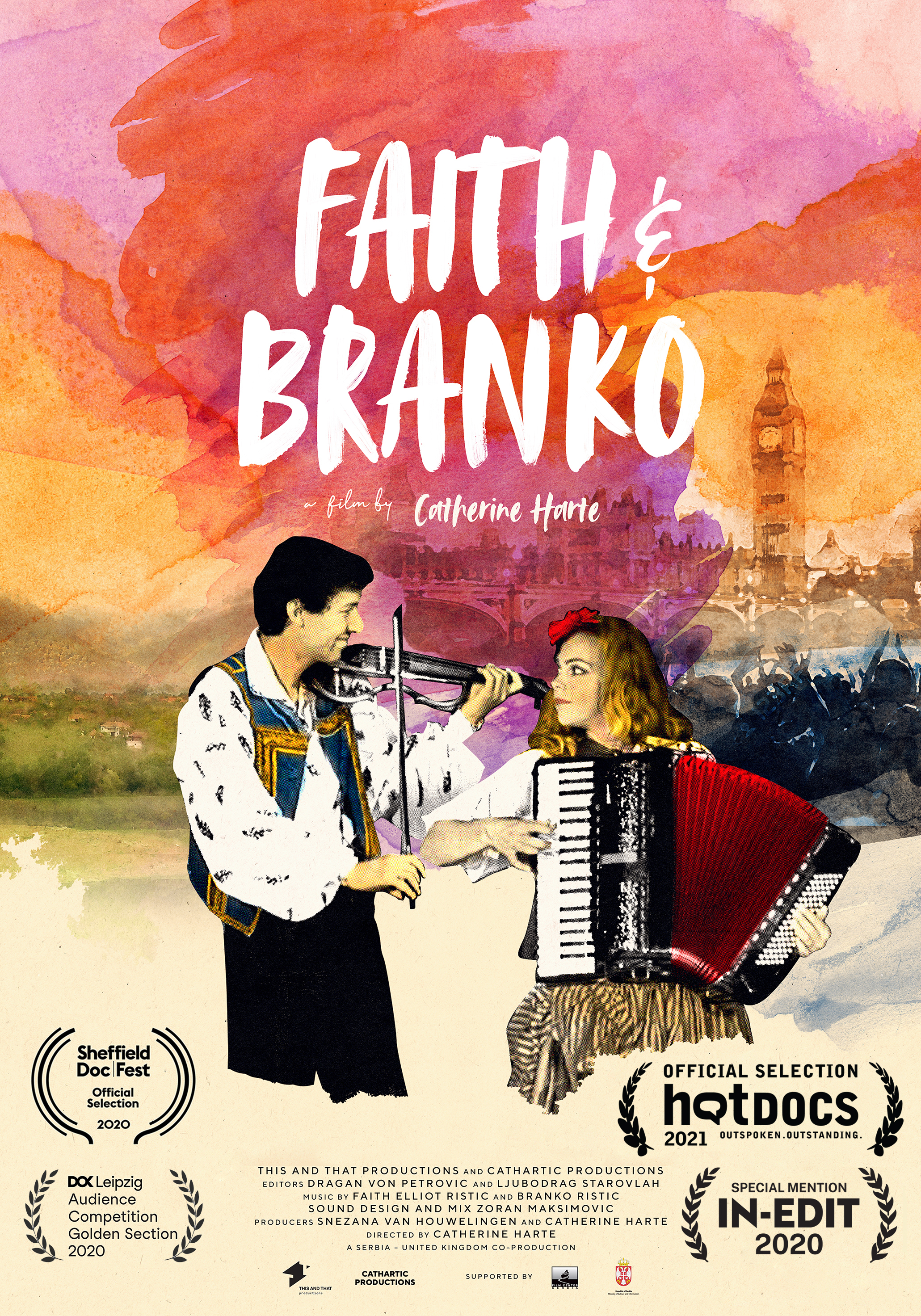 Faith and Branko poster M2021