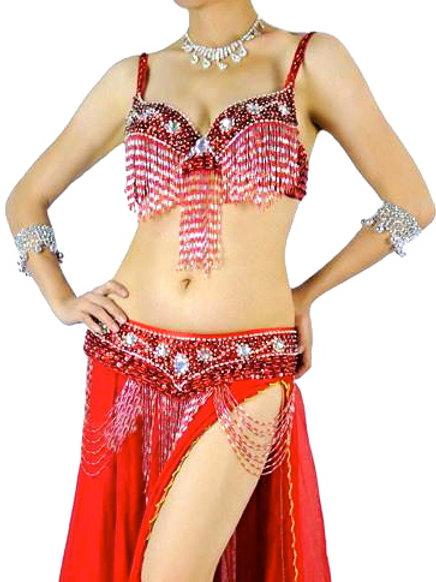 Costume Arabesque (bustier + ceinture) / Arabesque bra + belt