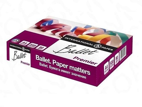 Бумага А4 Ballet 500 листов 80 гр/м2