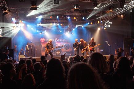 TB onstage at Wacken