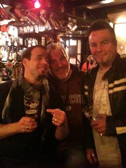 John, Nick & Steve pubbing!