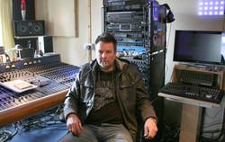 Mr. P at CT's studio