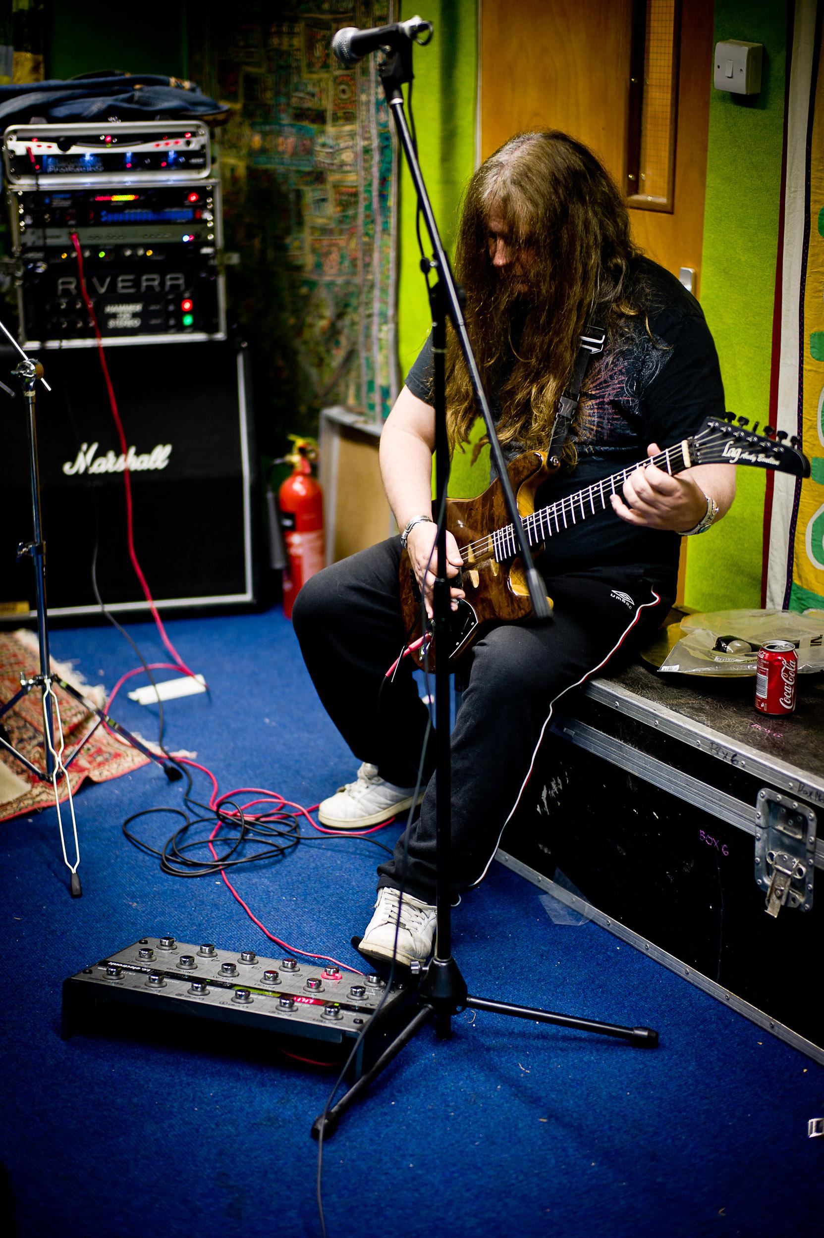 Tokyo Blade Rehearsals