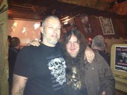 AB and our dear friend Frank