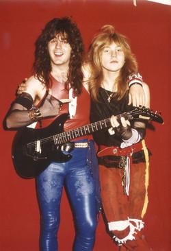 Andy B & Vic