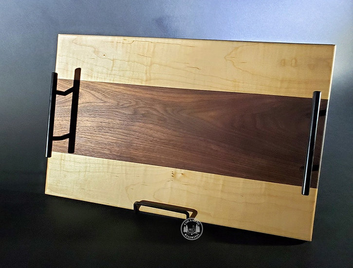 Figured Maple cutting board or charcuterie tray