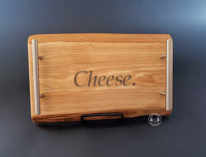'Cheese' Charcuterie Tray With Handles