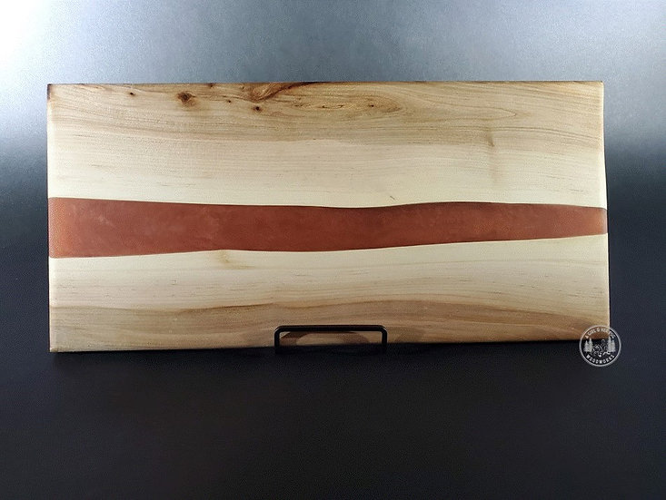 Ambrosia Maple & Copper River Resin Charcuterie Tray