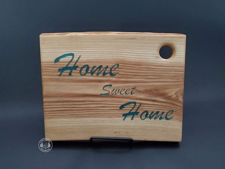 Home Sweet Home Charcuterie Tray Ash