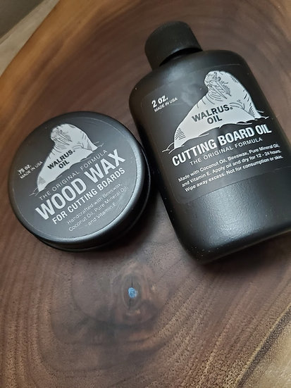 Walrus Oil & Wood Wax for boards