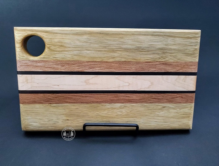 Mini Black Limba &Mixed Woods Cutting Board