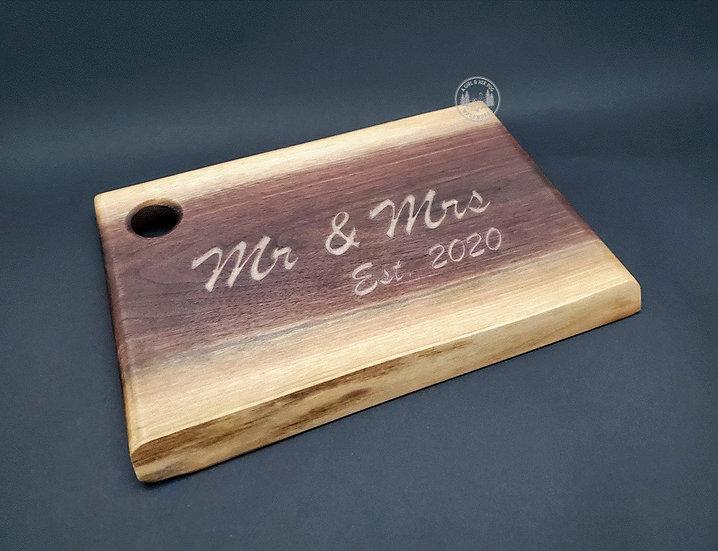 Mr & Mrs Charcuterie board