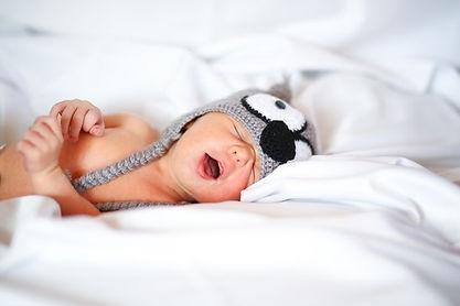 Newborn baby sleeping sleep program