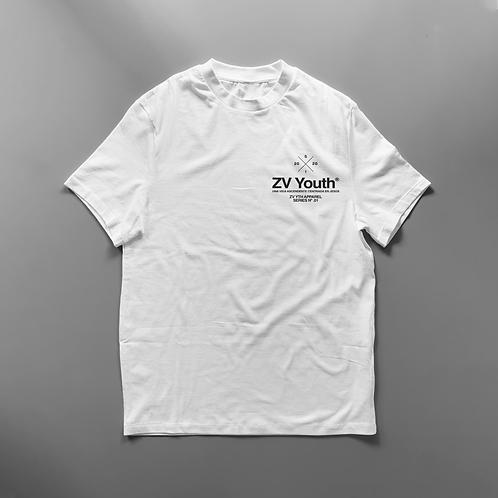 ZV YTH Short Sleeve Tee (Blanco)
