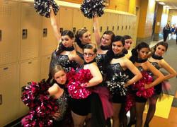 Burlesque Pom- Oak Lawn High School