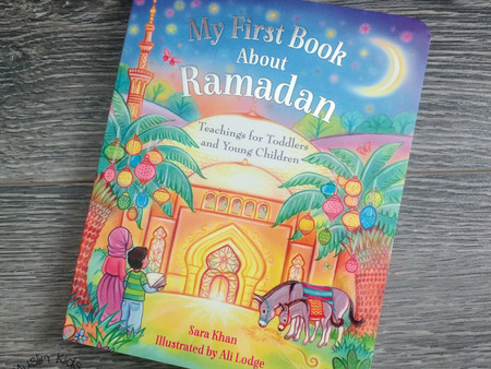 My First Ramadan Book by Sara Khan