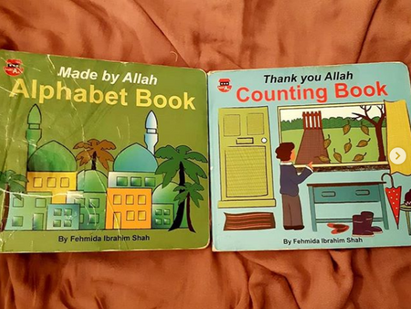 Thank You Allah Counting Book & Made by Allah Alphabet Book by Fehmida Ibrahim Shah