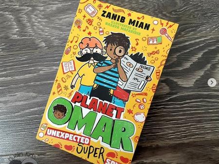 Planet Omar: Unexpected Super Spy (Book 2) by Zanib Mian