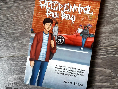 Accidental Rich Boy by Akmal Ullah