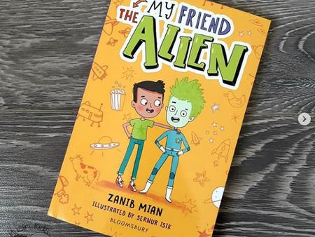 My Friend the Alien by Zanib Mian