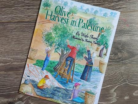 Olive Harvest in Palestine by Wafa Shami