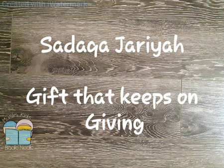 What is Sadaqa Jariyah?