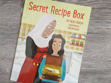 Secret Recipe Box by Helal Musleh