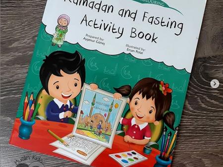 Ramadan and Fasting Activity Book by Aysenur Gunes