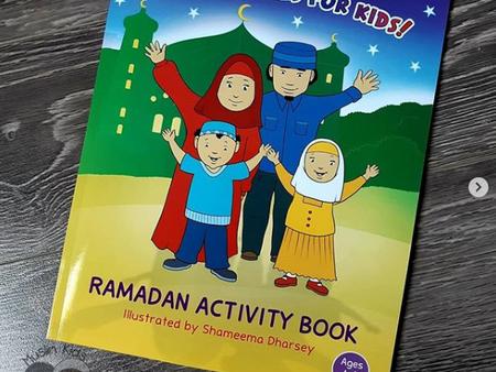 Shameema's Ramadan Activity Book by Shameema Dharsey