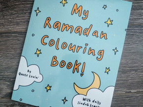 My Ramadan Coloring Book by Quote Lovin'